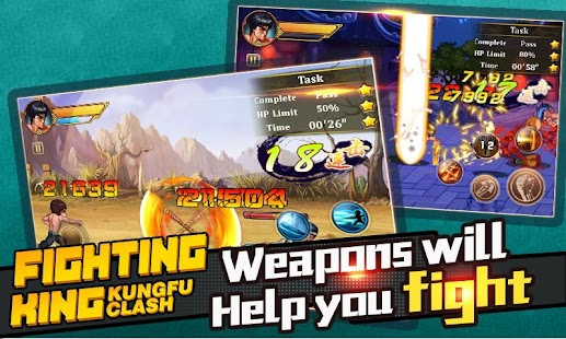 Fighting King:Kungfu Clash APK for Bluestacks