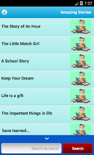 Amazing Stories English - screenshot