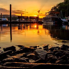 by Carolyn Odell - Landscapes Sunsets & Sunrises