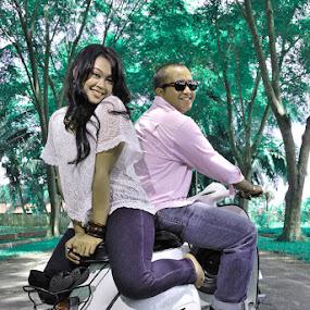 Ade & Nanda by Ricky Amsal - Wedding Old - Engagement