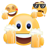 Cute Beer Gif Emoji Sticker APK for Bluestacks