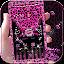 Download Pink Leopard diamond Theme APK