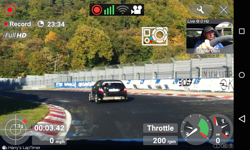 Harrys LapTimer GrandPrix - screenshot