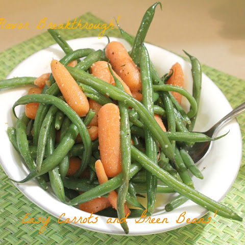 Easy Carrots And Green Beans!