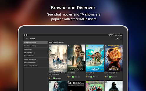 App IMDb Movies & TV APK for Windows Phone
