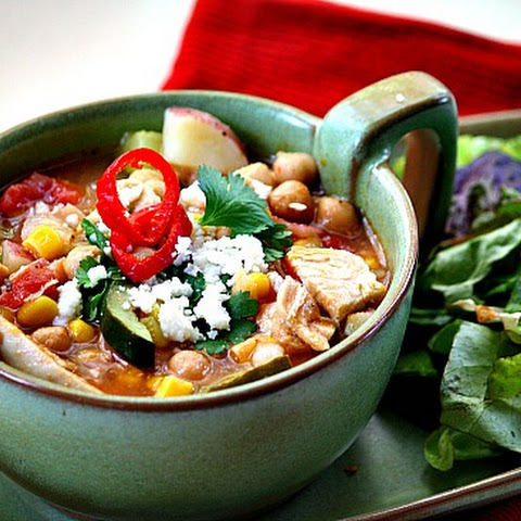 Sopa Ranchera, Mexican Chicken Soup Ranch Style