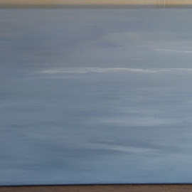 Een zee van luchtig licht by Kris Van den Bossche - Painting All Painting