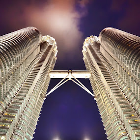 KLCC by Hussin Mohd Nor - Buildings & Architecture Other Exteriors ( klcc, twin towers, kuala lumpur )