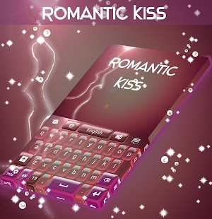 Romantic Kiss Keyboard - screenshot
