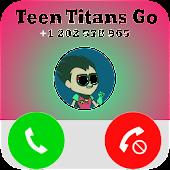 Call Teeny From Titans Go - Fake Call APK for Bluestacks