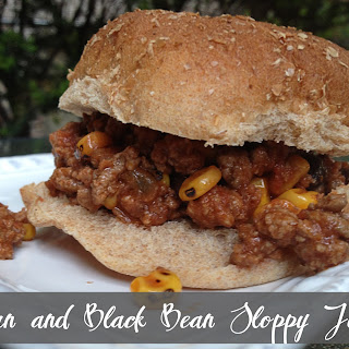Corn and Black Bean Sloppy Joes