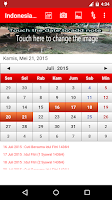 Screenshot of Indonesia Calendar