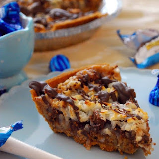 Almond Joy Magic Pie (For Pi Day!)