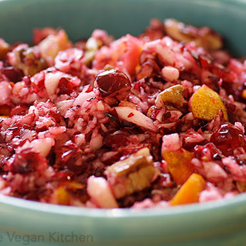 The Brown Family's Cranberry Relish