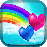 Cute Rainbow Live Wallpaper Icon