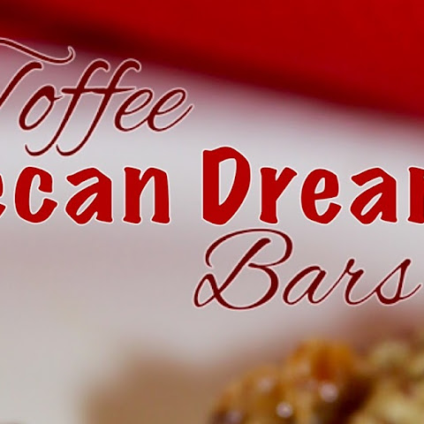 TOFFEE PECAN DREAM BARS