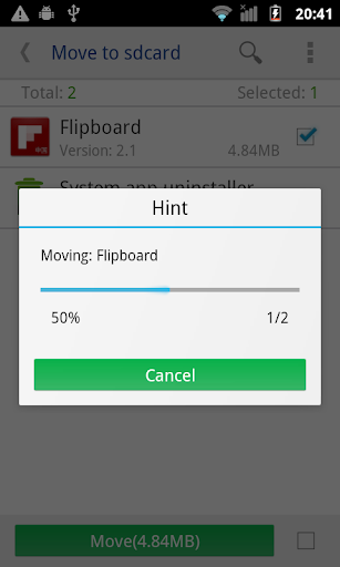 move app to sdcard pro screenshot 2