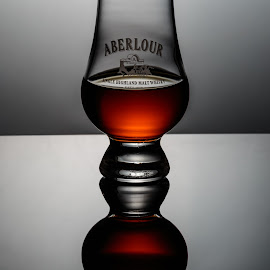 Aberlour by Tom Whitney - Food & Drink Alcohol & Drinks ( highland, vertical, aberlour, ll, whiskey, color, sipping, amber, scotch, malt, glass, whisky, barrel, golden, aged )