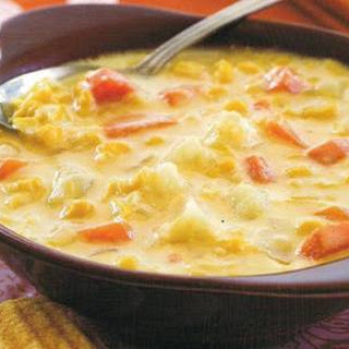 Vegetable Cheese Soup (slow Cooker)