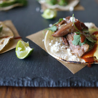 Mini Carnitas Tacos Fiesta