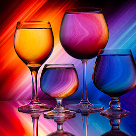 Colors of fire by Rakesh Syal - Artistic Objects Glass (  )