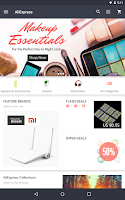 Screenshot of AliExpress Shopping App