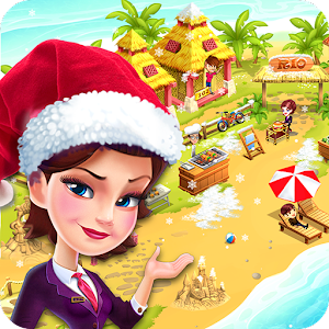 Kick Start & expand your resort business in this beautiful hotel simulation game APK Icon