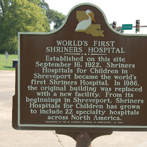 Established on this site September 16, 1922, Shriners Hospitals for Children in Shreveport became the world's first Shriners Hospital. In 1986, the original building was replaced with a new facility. ...