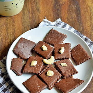 Quick chocolate burfi recipe | How to make quick chocolate burfi