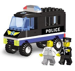 "Конструктор SuperBlock ""Police"" Фургон M"