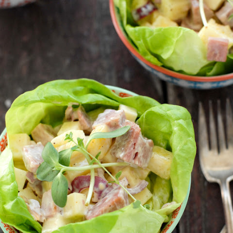 Hawaiian Chopped Ham Salad