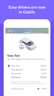 Easy Taxi, a Cabify app for pc