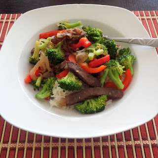 Beef Broccoli and Pepper Stir Fry