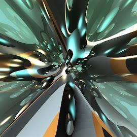 Random Ideas by Ricky Jarnagin - Illustration Abstract & Patterns ( mandelbulb 3d, abstract art, fractal art, fractal, geometric, abstract )