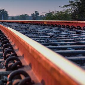 Rail Tracks by Ajay Sood - Travel Locations Railway ( pwccurves, rail tracks, railway, rajasthan, ajay, sood, travelure, tracks, bundi )