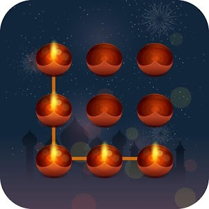 Happy Diwali AppLock Theme Icon