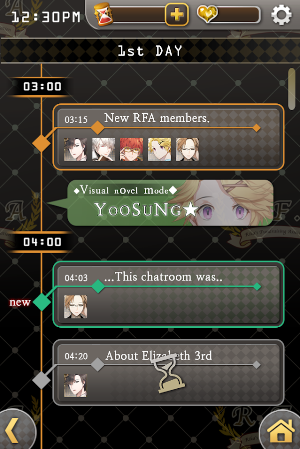 Mystic Messenger Screenshot 2
