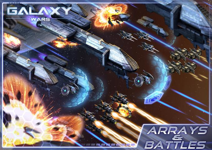Galaxy Wars Screenshot 1