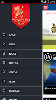 Screenshot of Official RCB App