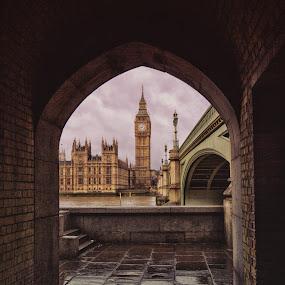 London Big Ben by Balazs Romsics - Buildings & Architecture Public & Historical ( london big ben )