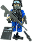 "Конструктор ""спец отряд"" полиция щит"