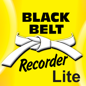 Black Belt Recorder White Lite