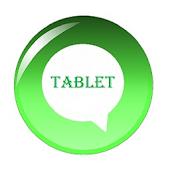 Tablet messenger for Whatsapp