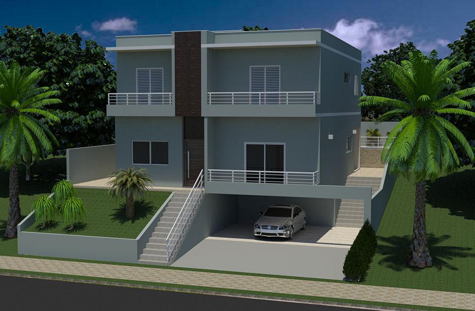 Carpe Diem Imóveis - Casa 4 Dorm, Jardim Recanto