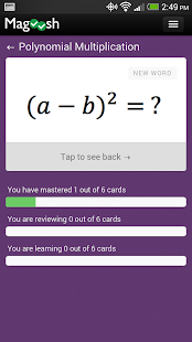 GMAT Math Flashcards for pc