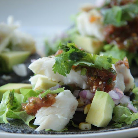 How to Make Healthy Blue Corn Fish Tacos at Home