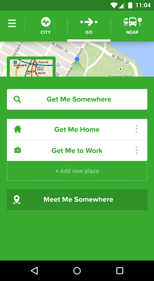 Citymapper Screenshot 1