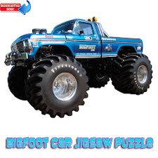 Bigfoot Car Jigsaw Puzzle
