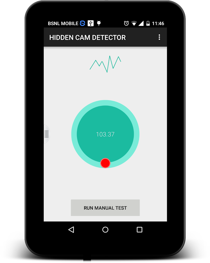 Hidden Camera Detector AdsFREE Screenshot 7