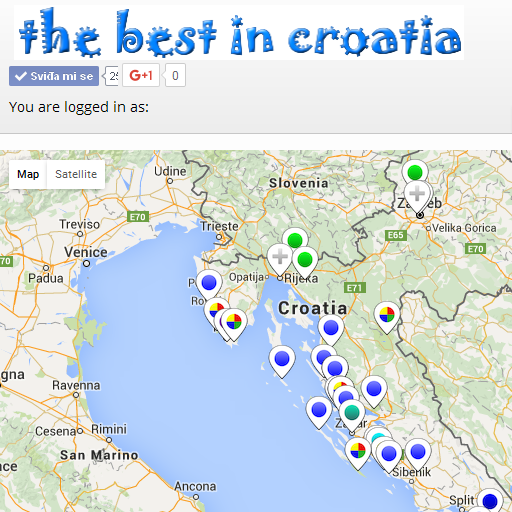 Android aplikacija Croatia Ads Map Guide na Android Srbija